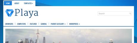 Playa New WordPress Themes