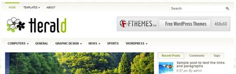 Herald New WordPress Themes