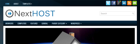 NextHost New WordPress Themes