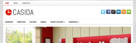 Casida New WordPress Themes