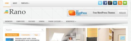Rano New WordPress Themes