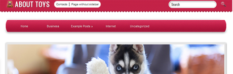 About toys New WordPress Themes