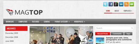 MagTop New WordPress Themes