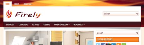 Firely New WordPress Themes