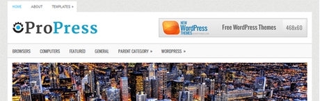 ProPress New WordPress Themes