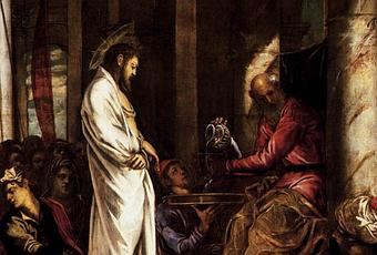 II. BEFORE CAIAPHAS AND THE SANHEDRIN