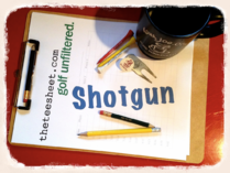 SHOTGUN: THE REAL TIGER PUTTER • LAME & LAMER