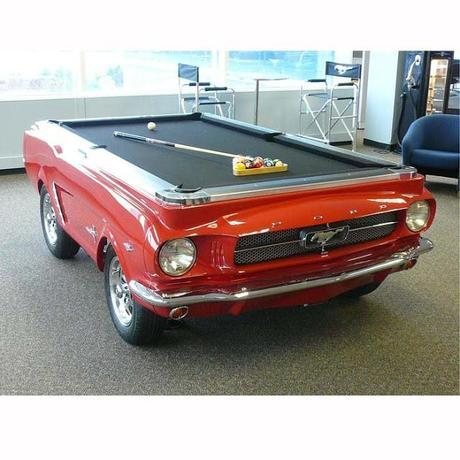 1965 Mustang Pool Table !