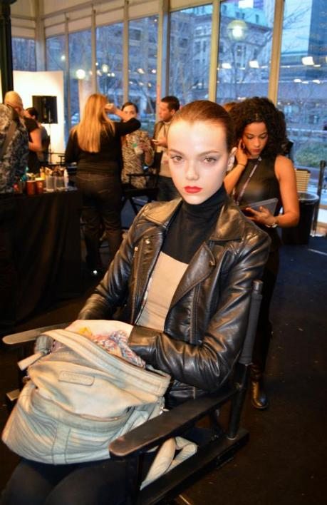 It's a Beautiful Life Backstage at Toronto Fashion Week