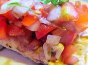 Grilled Chicken Bruschetta.