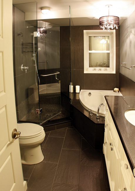 Inspiration for Small Bathrooms - Paperblog