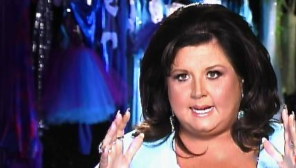 Dance Moms: Just A Small Town Girl On A Saturday Night Shrink Wrapping Her Baby Fat. She's A Maniac Alright.