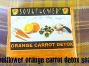 Soulflower Orange Carrot Detox Soap