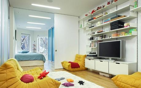 Kids' Room at Kenig Residence