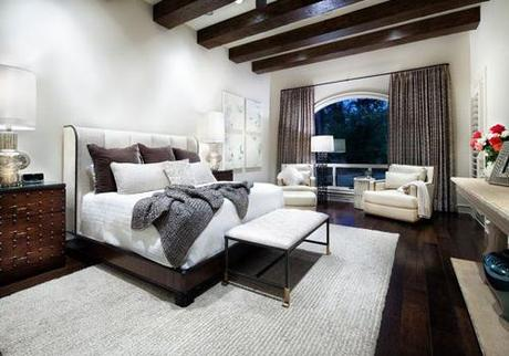 Let s talk dark colored hardwood floors designs paperblog for Bedroom ideas dark wood floor