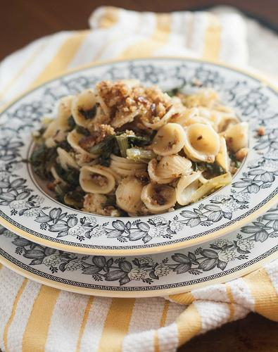 Orecchiette with Escarole and Bread Crumbs (7 of 9)