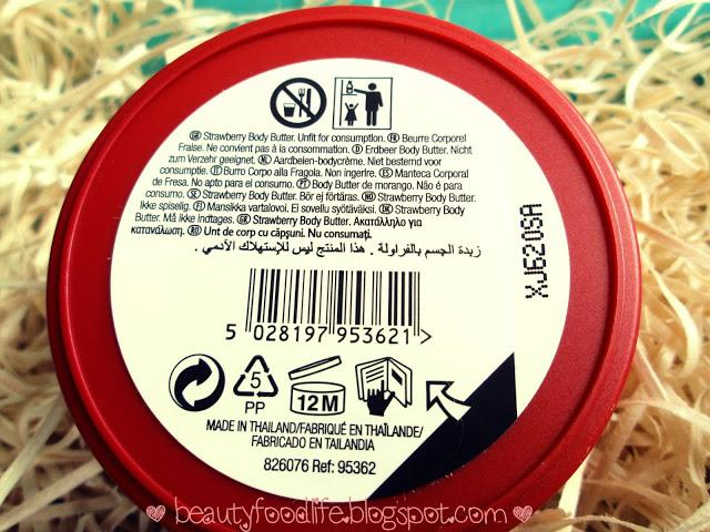 The Body Shop Strawberry Body Butter :: Review