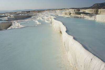 Pamukkale pools and terraces