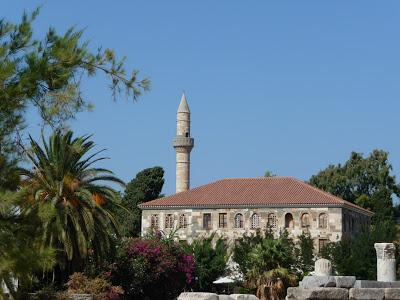 Gazi Hassan Mosque in Kos, Greece