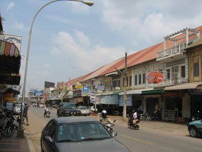 Battambang city street