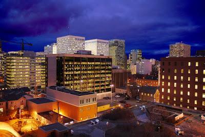 Downtown Ottawa by Night