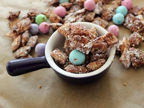 Sesame and Chocolate Puppy Chow