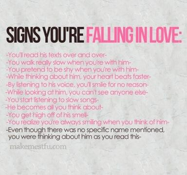 10 Signs You Are Falling in Love