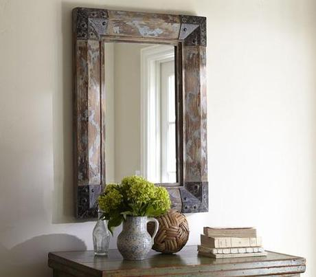 decor reclaimed wood mirrors6 Upcycling Design: Mirrors Framed with Reclaimed Wood HomeSpirations