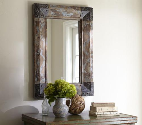 Upcycling Design: Mirrors Framed with Reclaimed Wood