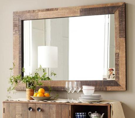 decor reclaimed wood mirrors7 Upcycling Design: Mirrors Framed with Reclaimed Wood HomeSpirations
