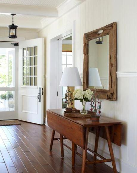 decor reclaimed wood mirrors4 Upcycling Design: Mirrors Framed with Reclaimed Wood HomeSpirations