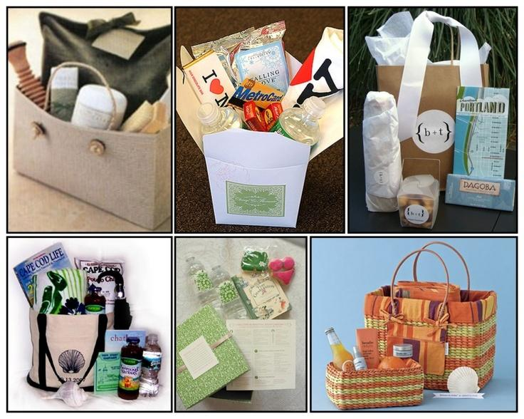 Gifts For Wedding Guests: Wedding Gifts: Welcome Baskets For Out Of Town Guests