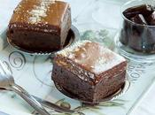 Chocolate Mousse Brownie Cake