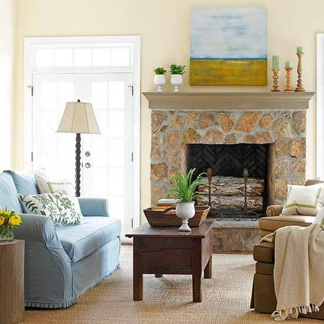 Decorating Around A Fireplace