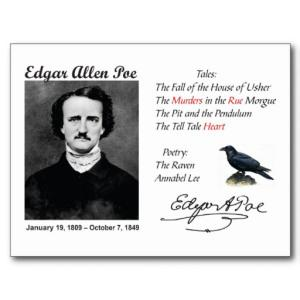 on the writing style of edgar In addition to his place among gothic authors, edgar allan poe is known as the grandfather of horror in american literature, because he was the first to employ many of his signature style.