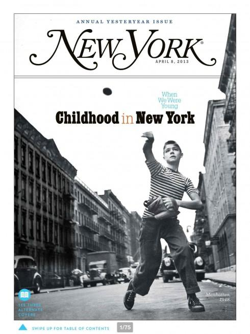 New York Magazine's New iPad App: Lean Forward, Lean Back ...