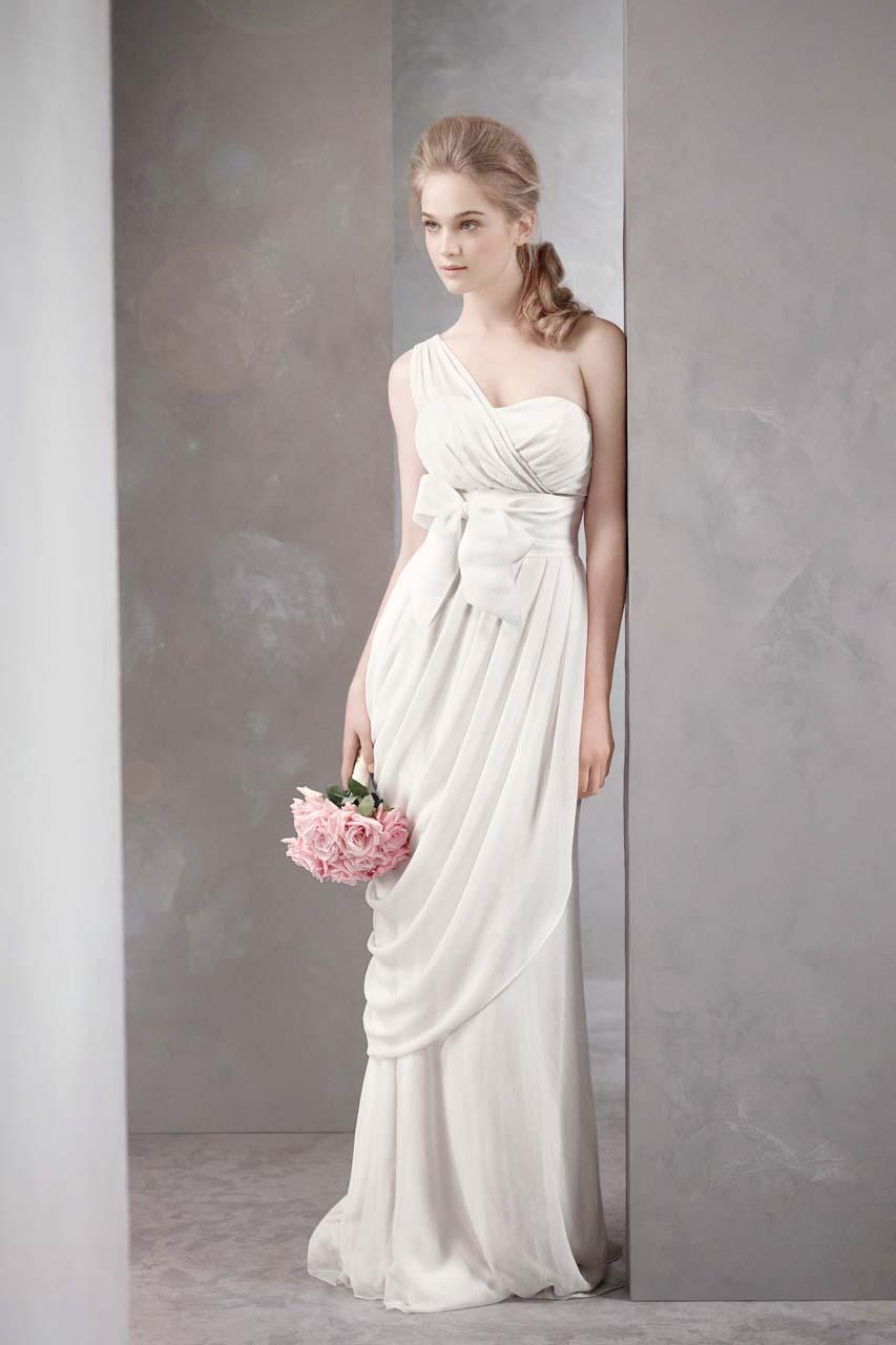 Aisle style grecian style wedding gowns paperblog for Greece style wedding dresses
