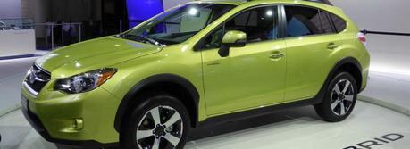 Subaru XV Crosstrek Hybrid (Source: Panasonic Corporation)