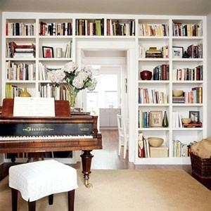 An Amazing Ikea Hack (Built-In Bookcases)