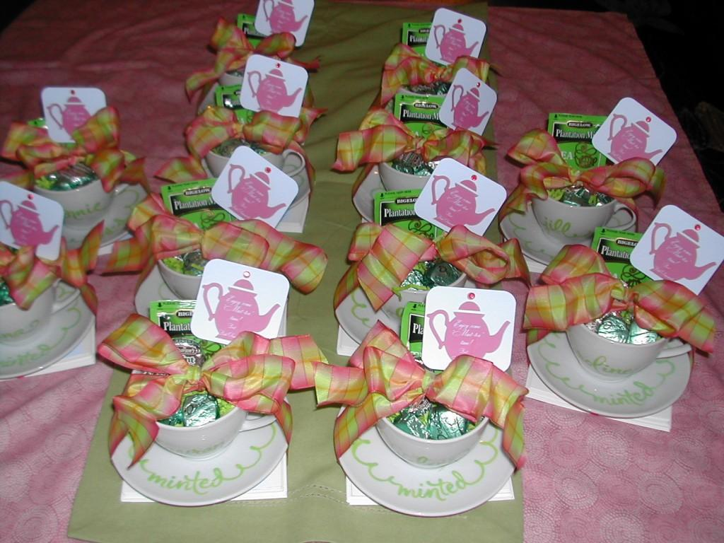 Personalized Tea Cup Favors Paperblog