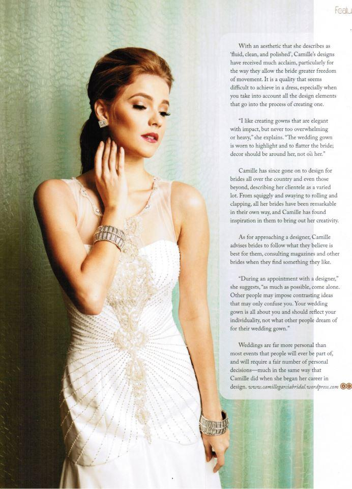 Marian Rivera Wears Camille Garcia Bridal Couture Paperblog