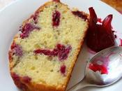 Butter Cake with Pickled Roselle