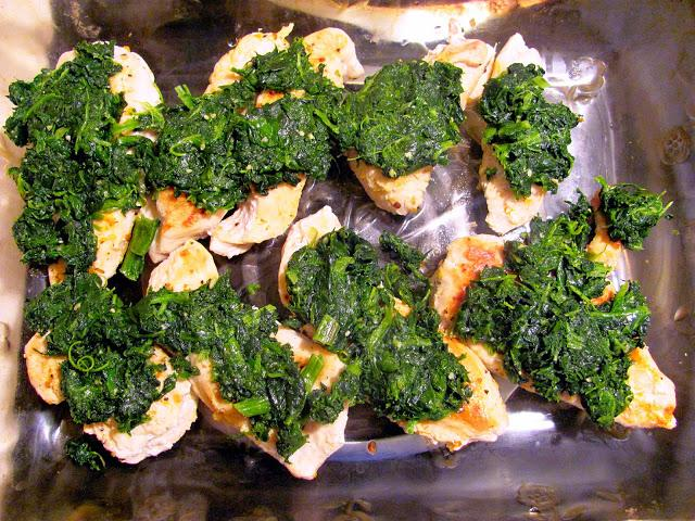 Grilled Chicken with Spinach and Melted Mozzarella ...