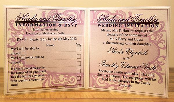 types of bespoke wedding invitations part 2 paperblog