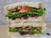 Kalamata Olive Pesto Sandwich (Vegan Friendly) A.k.a Copycat Corfu
