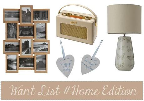 Want List #Home edition