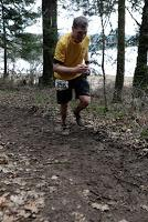 So I ran a 25k in the cold, cold mud.