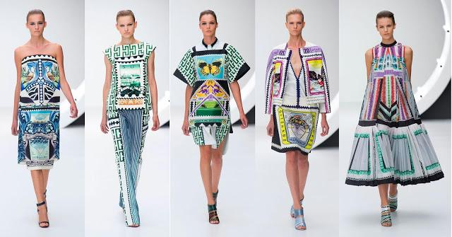 Graphic Print Trend Spring Summer 2013 Fashion Paperblog