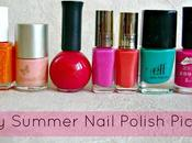 Nail Colours Spring Summer
