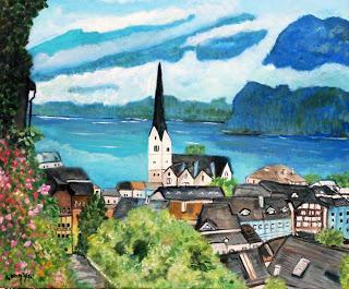 Austrian Town of Hallstatt